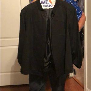 Dressbarn black blazer